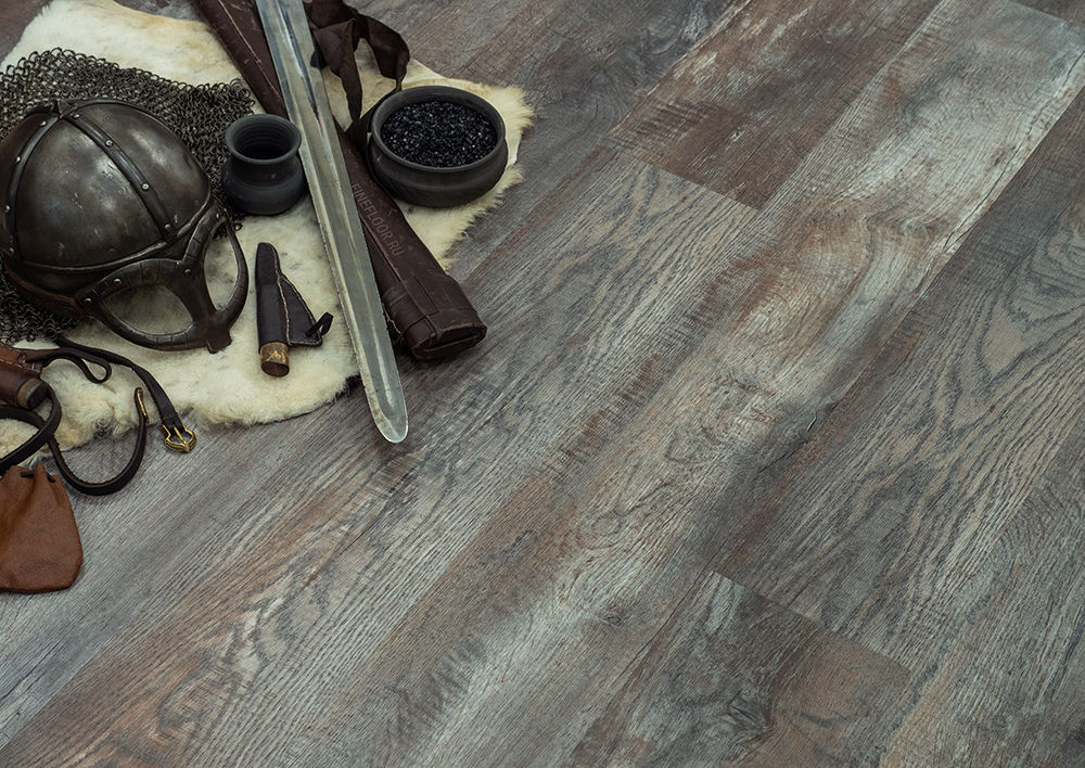 Кварц-винил Fine Floor Wood Click FF-1518 Дуб Этна