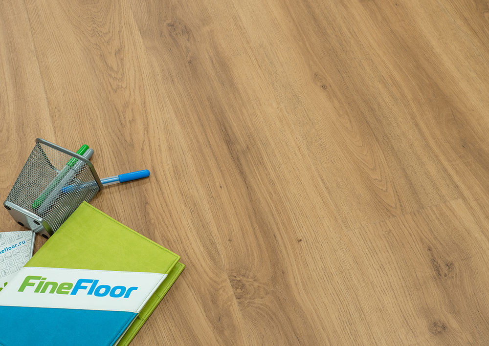 Кварц-винил Fine Floor Wood Click FF-1509 Дуб Орхус. Фото N3