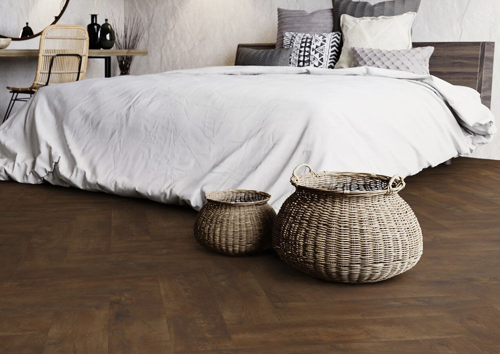 Кварц-винил Moduleo Herringbone Parquetry Country Oak 54880