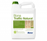 Лак Bona Traffic Natural на водной основе (4.95 л)
